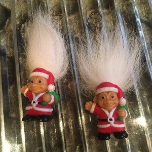Vintage Christmas trolls